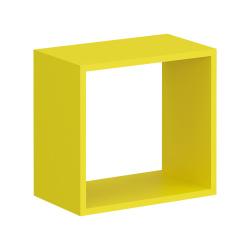 Полка Мебельная Фабрика 1+1 Настенная Прямая навесная Junior mini, 39,2х23х36,6 см, 1 шт.. Junior