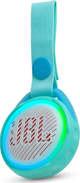 Портативная акустическая система JBL Jr Pop Aqua Teal