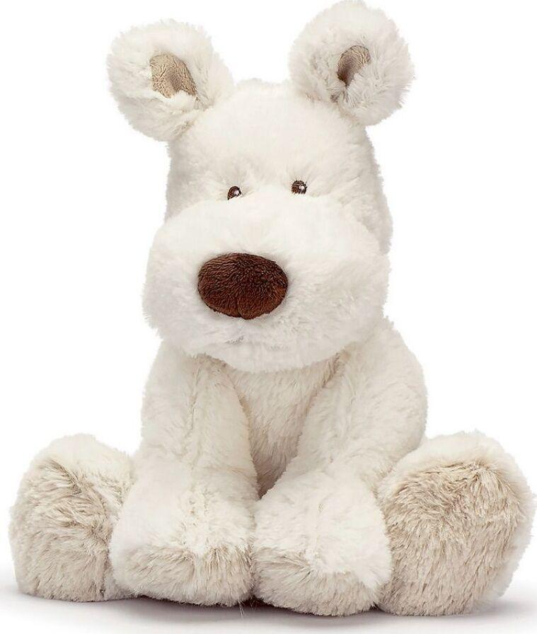 Мягкая игрушка Teddykompaniet Собака, белый, 23 см