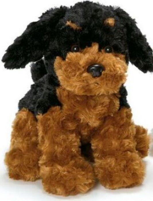 Мягкая игрушка Teddykompaniet Собачка, черный, бежевый, 23 см