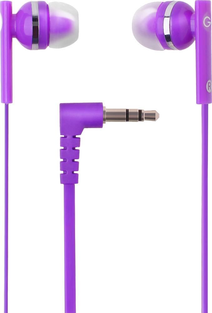 цена на Наушники проводные GAL M-005V-F Цвет: фиолетовый