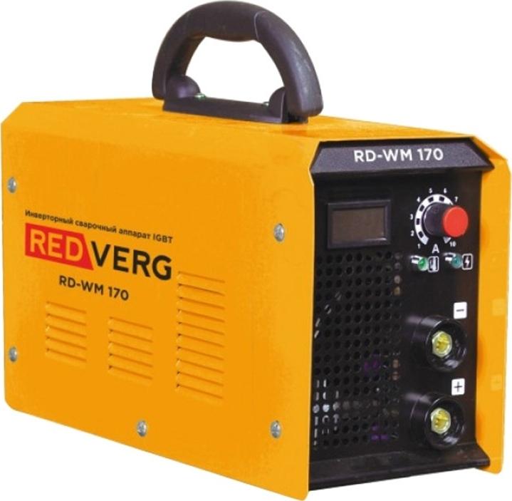 цена на Аппарат сварочный инверторный REDVERG RD-WM 170