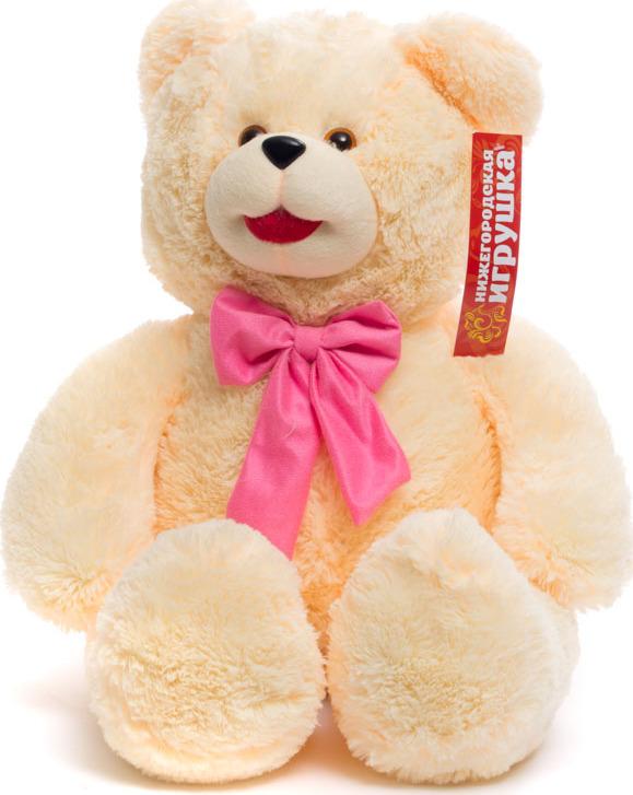 Мягкая игрушка Медведь с бантом Нижегородская Игрушка См-600-5