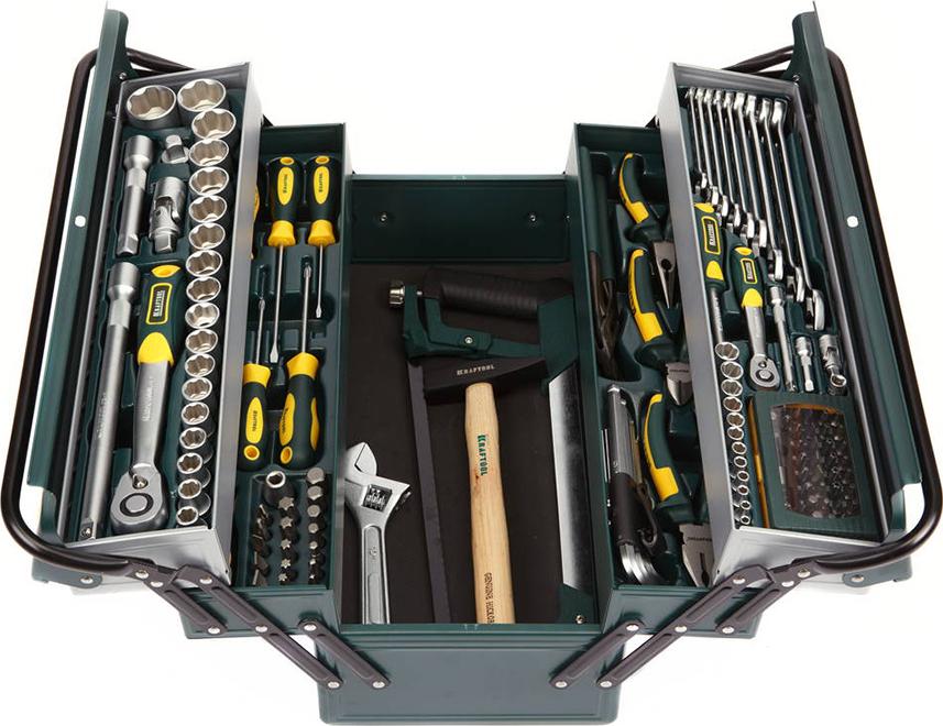 Набор ручного инструмента KRAFTOOL 27978-H131 цена