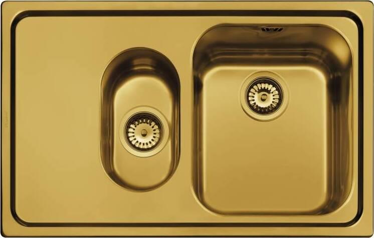Кухонная мойка Smeg SP7915SOT крыло слева
