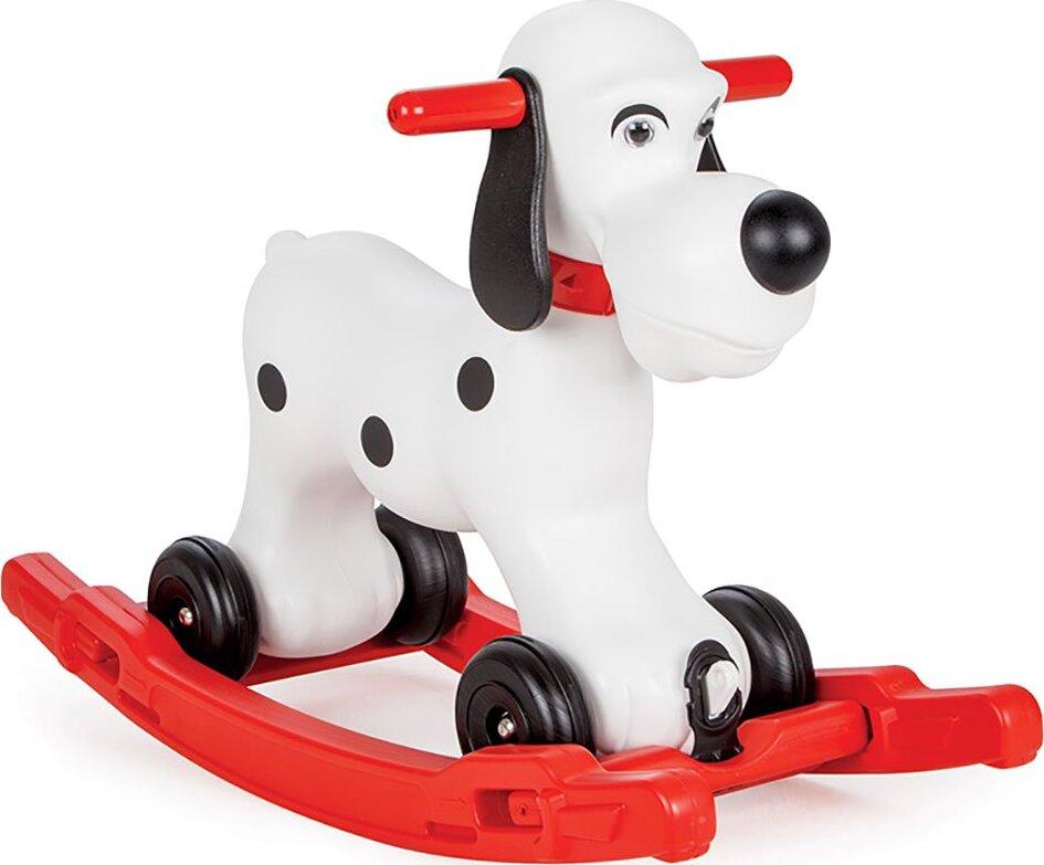 Качалка Собачка со съемным поддоном и колесиками Pilsan Rocking Cute Dog pilsan каталка crazy car