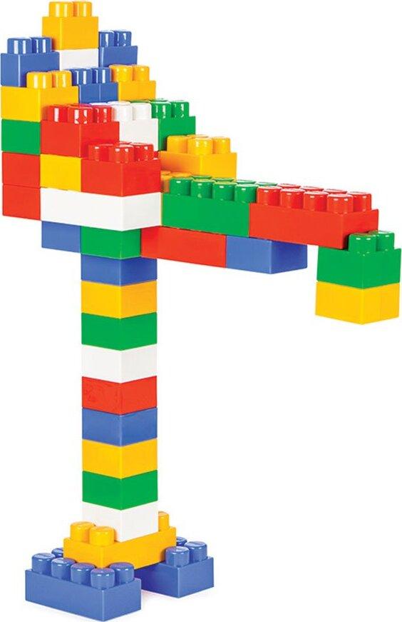 Конструктор из 130 деталей Pilsan Master Blocks