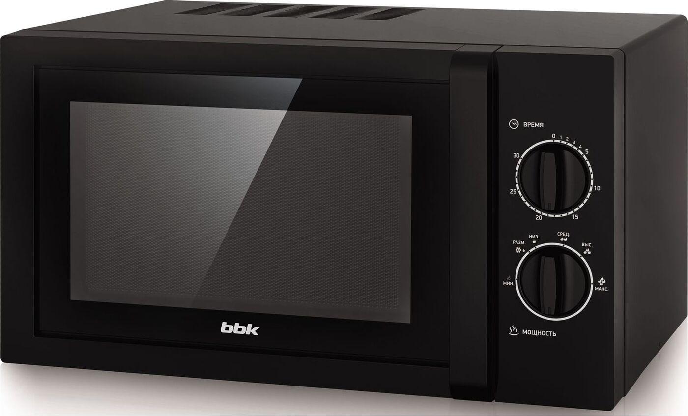 Микроволновая печь BBK 23MWS-822M/B/RU MG, черный
