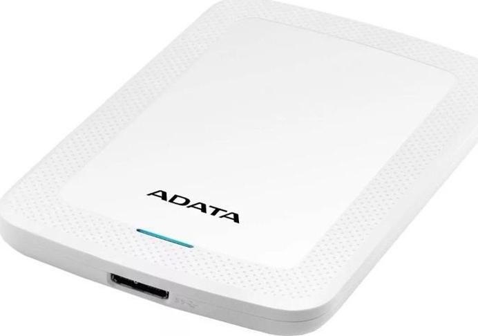 Внешний жесткий диск 2Tb ADATA HV300 White, AHV300-2TU31-CWH жесткий диск a data usb 3 0 2tb ahv300 2tu31 cwh hv300 2 5 белый
