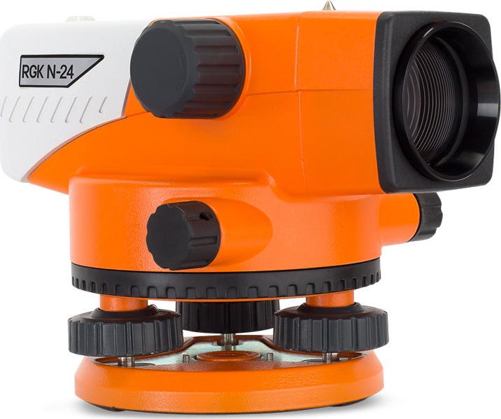 Нивелир оптический RGK N-24 + поверка