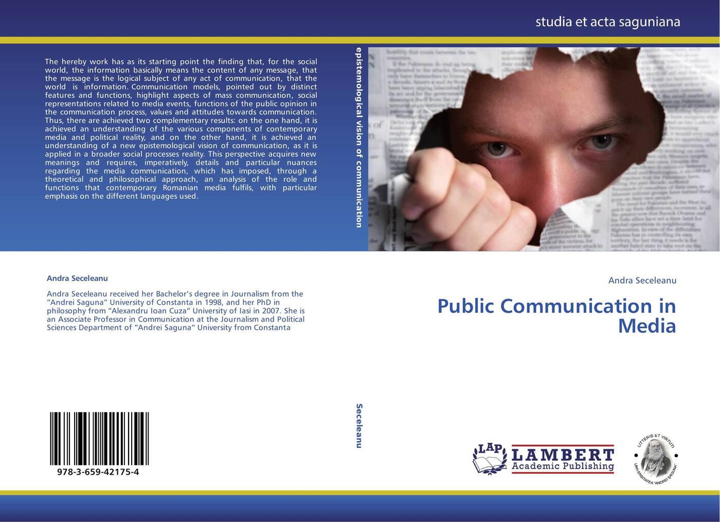 Andra Seceleanu Public Communication in Media mass media communication