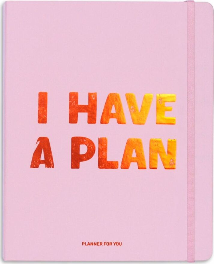 Планер I HAVE A PLAN розовый