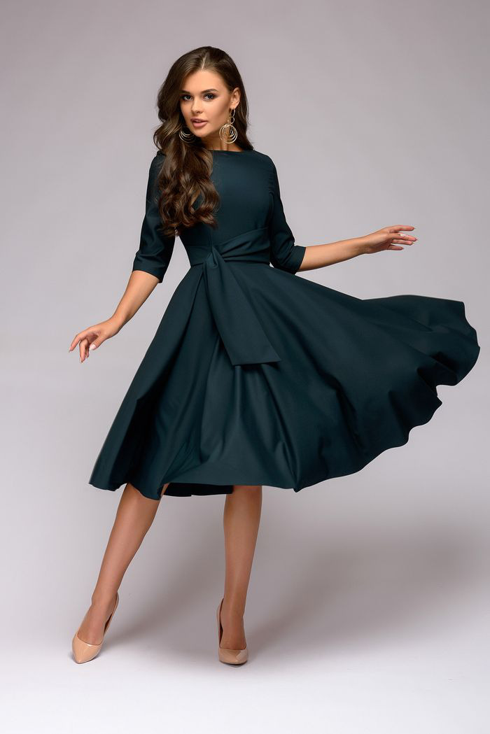ленту фотографий вечернее платье по колено с рукавами фото отзыв поможет другим