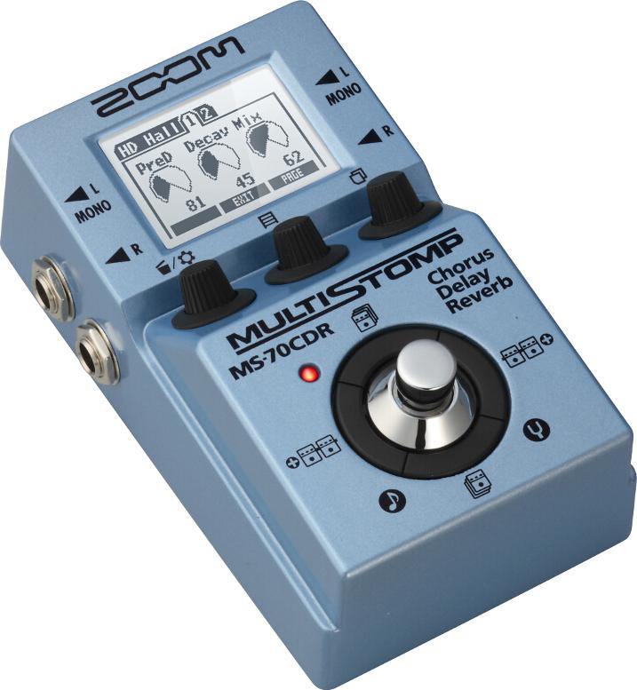 Мультипедаль эффектов для электрогитары Zoom MS-70CDR