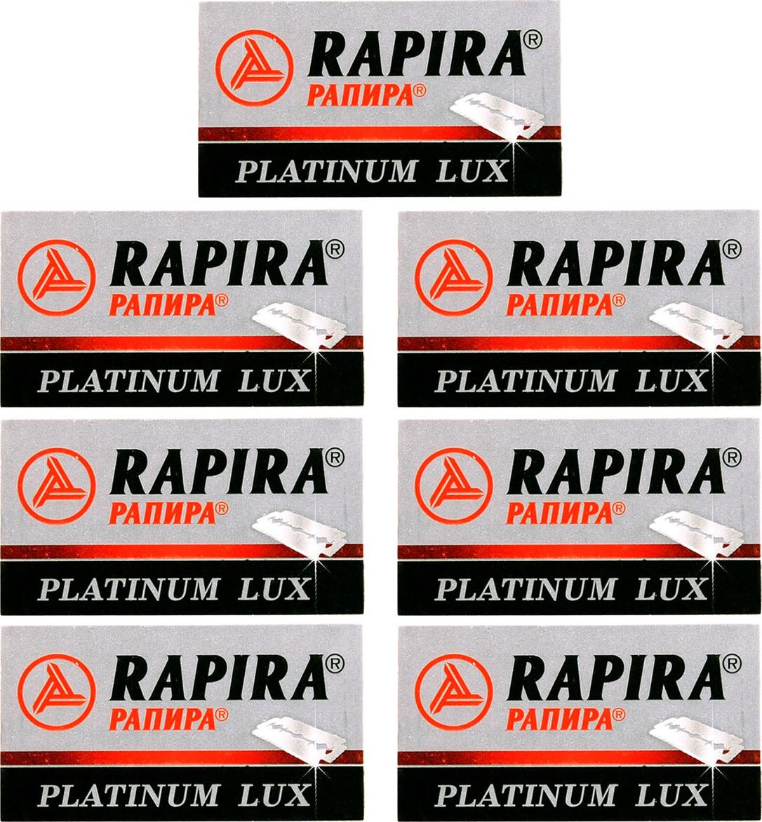 7 упаковок лезвий RAPIRA (РАПИРА) PREMIUM LUX для бритвенных станков