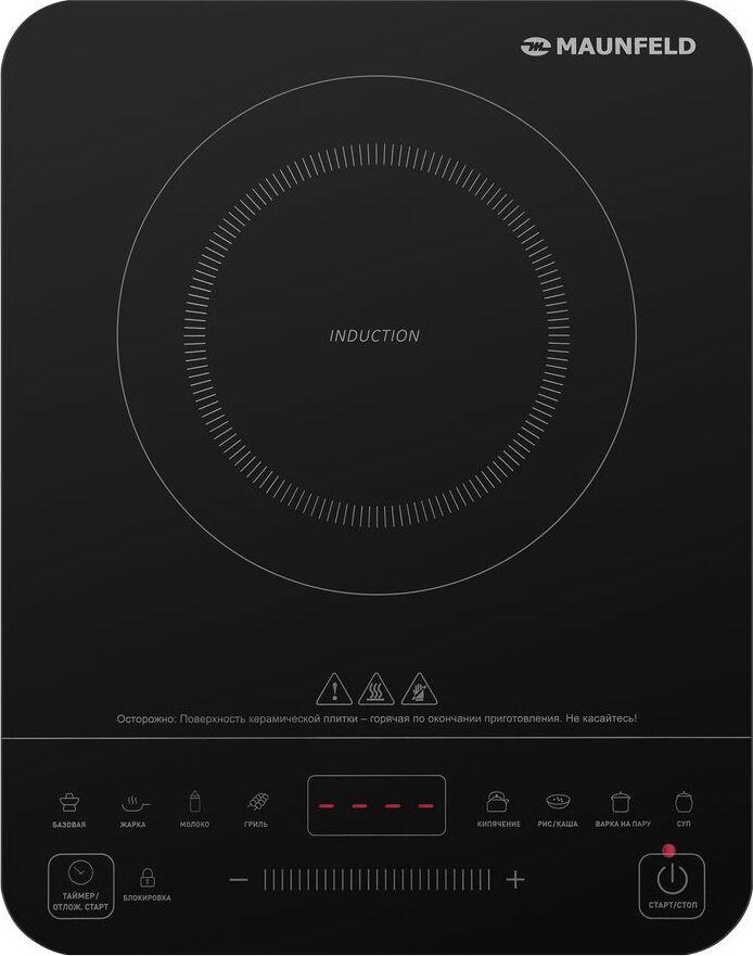 Индукционная панель MAUNFELD EVI.F291-BK черный Преимущественные особенности...