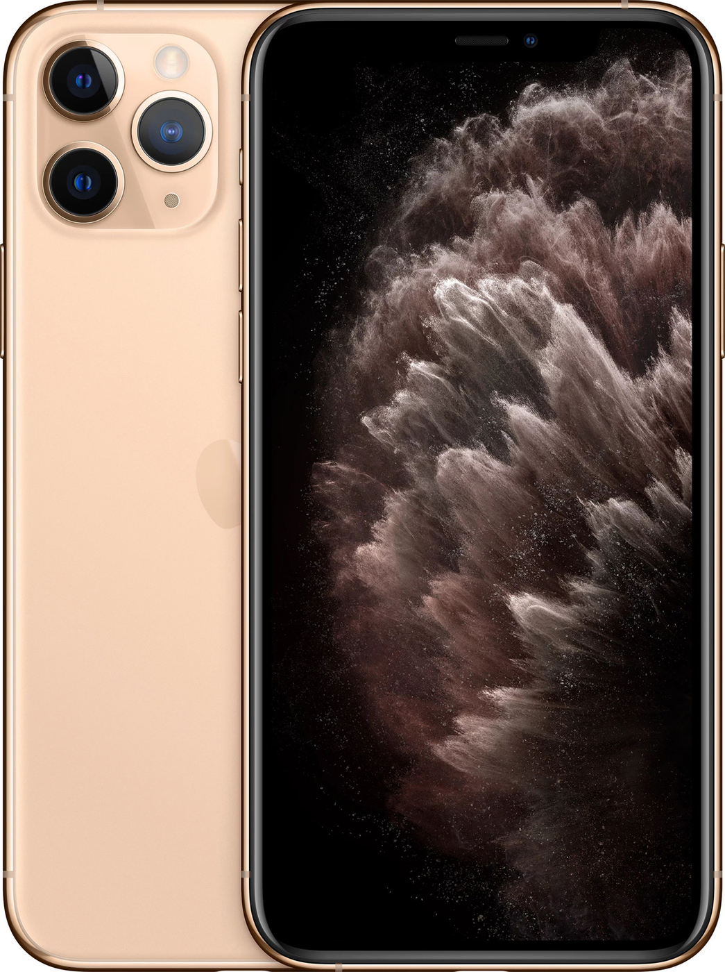 Смартфон Apple iPhone 11 Pro Max 4/256GB, золотой