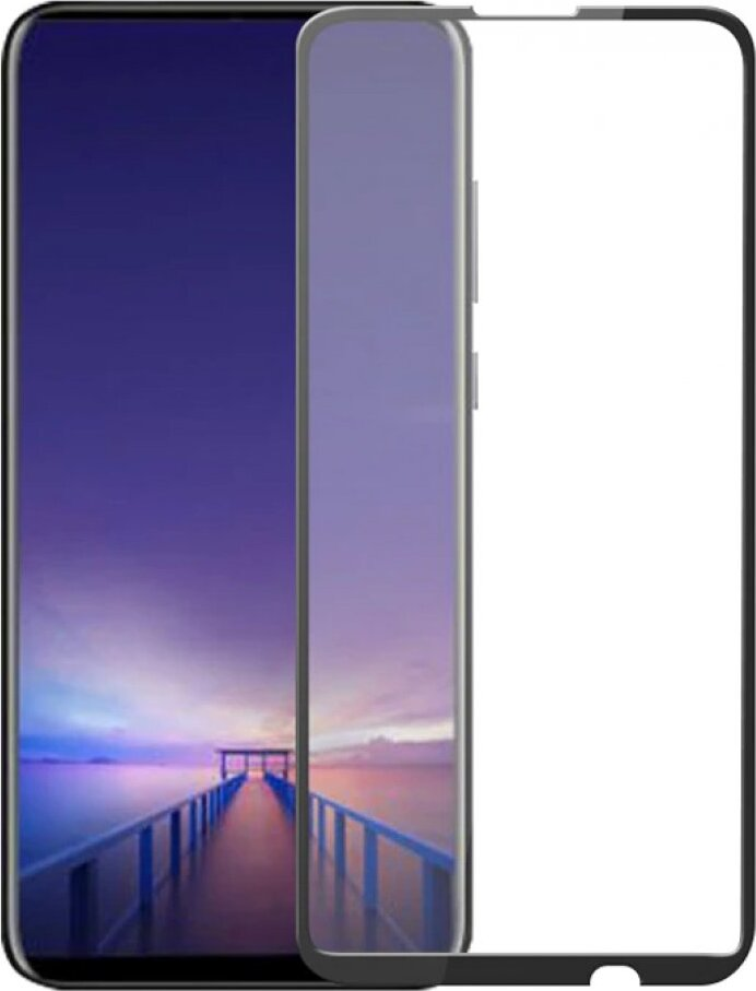 Защитное стекло 5D Tempered Glass для Huawei Honor 9X черное