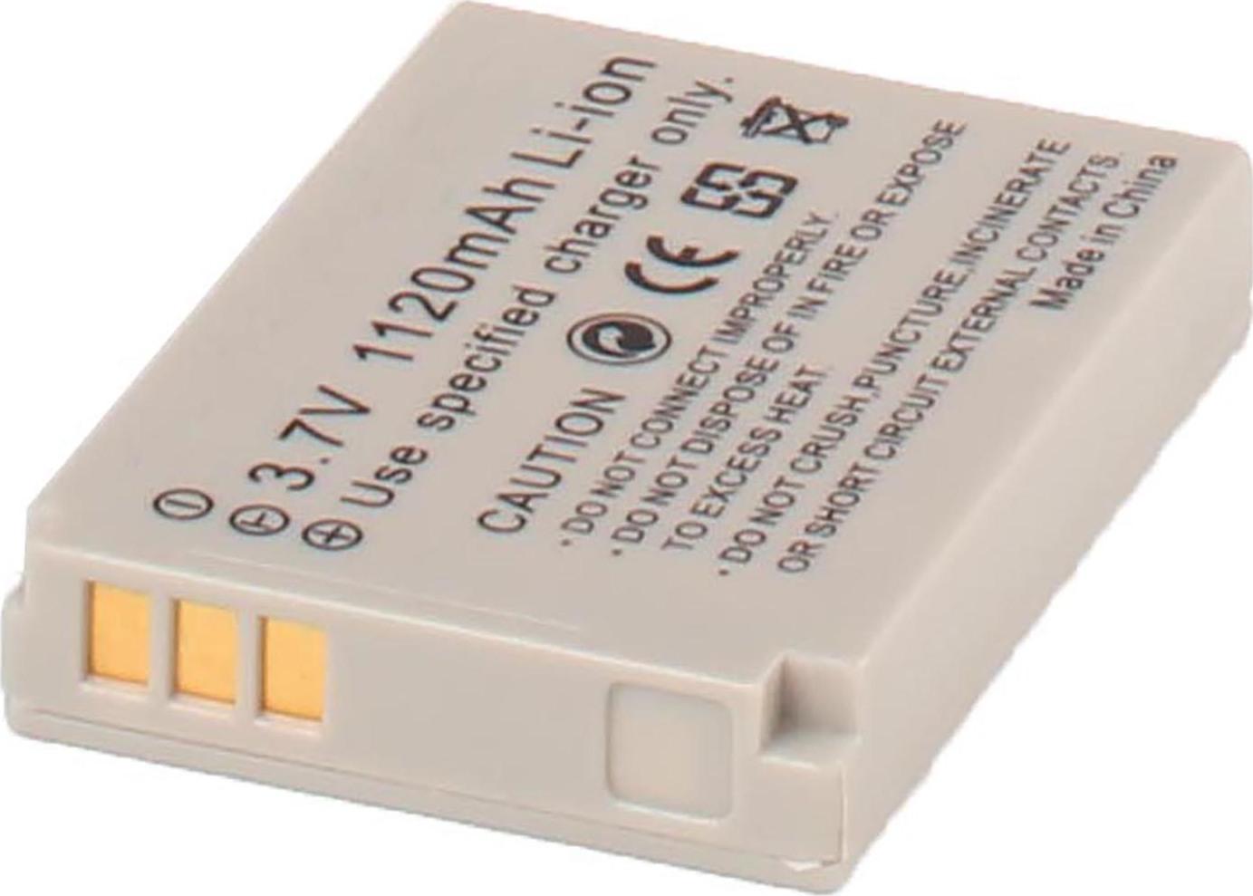 Аккумуляторная батарея iBatt iB-T1-F119 1120mAh для камер Canon PowerShot SX210 IS, PowerShot SX200 IS, Digital IXUS 90 IS, Digital IXUS 960 IS, Digital IXUS 950 IS, Digital IXUS 860 IS, PowerShot SD850 IS, Digital IXUS 900 IS, Digital IXUS 980 IS,