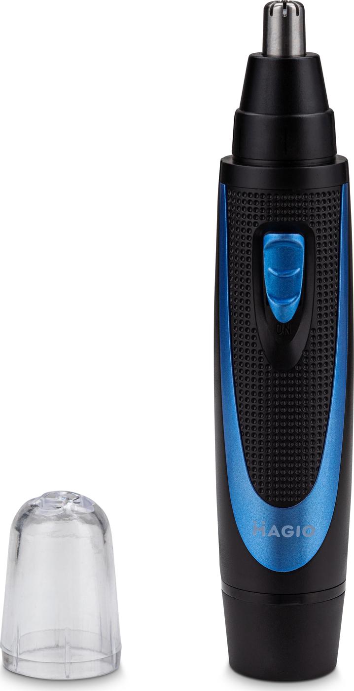 Триммер для носа и ушей Magio MG-914 цвет: черно-синий