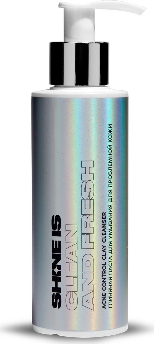 Паста для умывания Shine Is Acne Control Clay Cleanser, глиняная, для проблемной кожи, 150 мл Shine Is