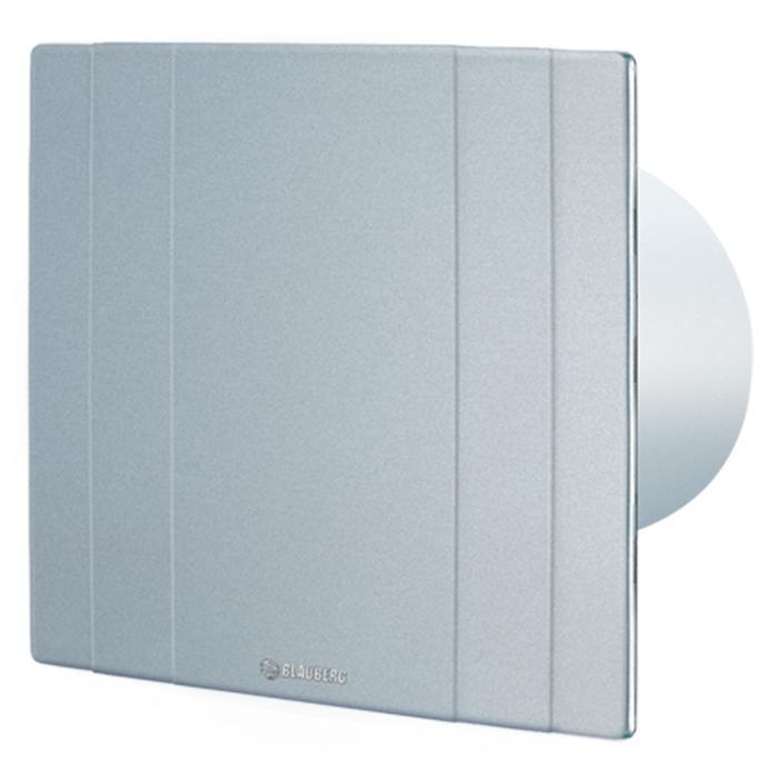 Вытяжка для ванной диаметр 125 мм Blauberg Quatro Platinum 125 Разница между подвидами серий Quatro заключается в декоративном...