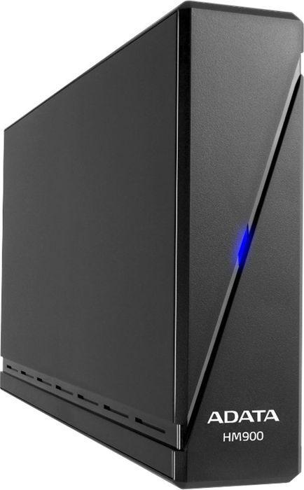"Внешний жесткий диск ADATA 3.5"" 6TB HM900 AHM900-6TU3-CEUBK USB 3.1, LED Indicator, TV recording, One Touch Smart Backup, Shock Sensor Protection, Win/Mac/Linux, Black"