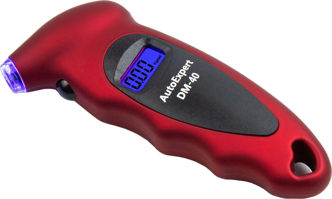 Манометр цифровой AutoExpert DM-40, 14001, красный