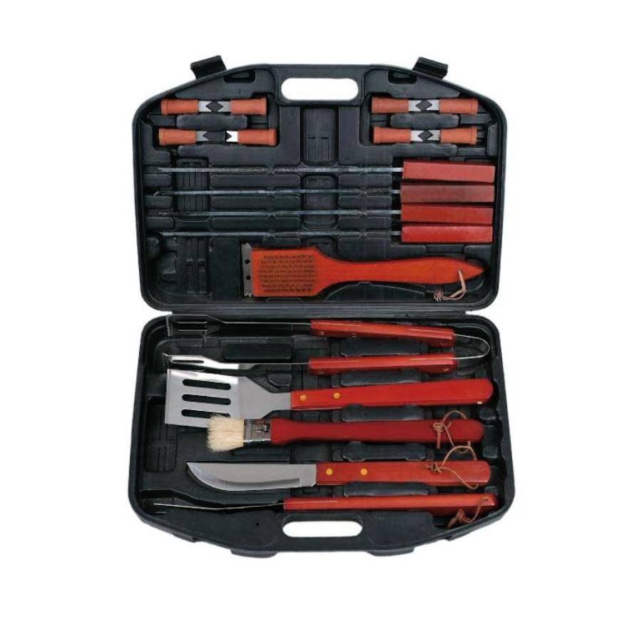 """Набор ножей для барбекю в чемодане """"Bayerhoff"""", BH-5140/b (22 предмета)"""