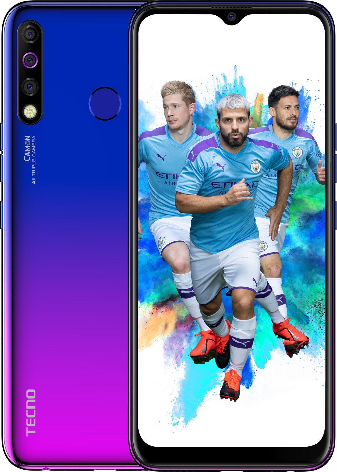 Смартфон Tecno Camon 12 3/64GB, синий