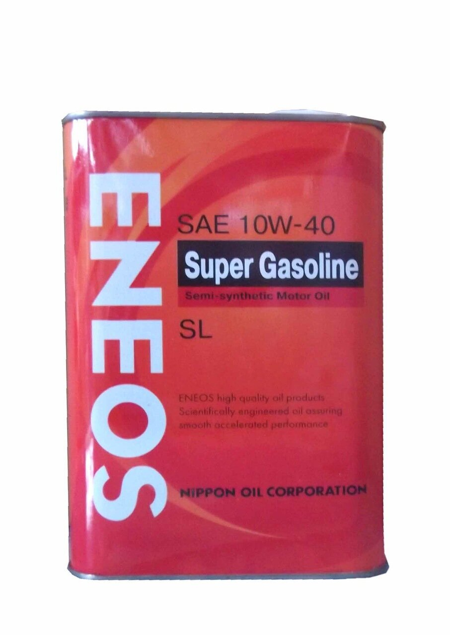 Моторное масло ENEOS Super Gasoline Semi-Synthetic SAE 10W-40 (0,946л)