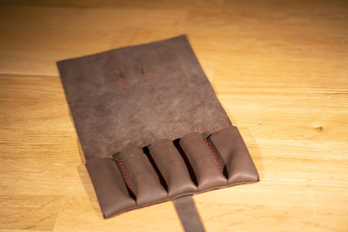 Сумка для 5 складных ножей BroCase Craft BC-101RE