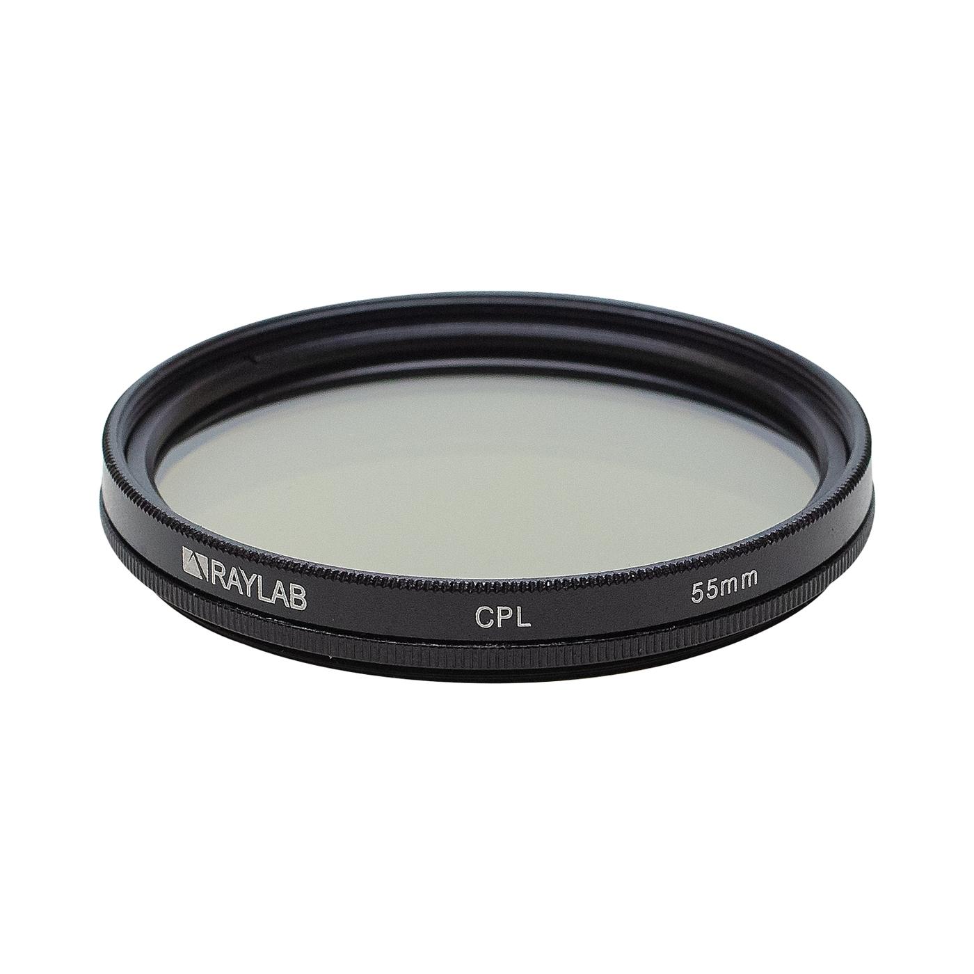 Фильтр поляризационный RayLab CPL 55mm