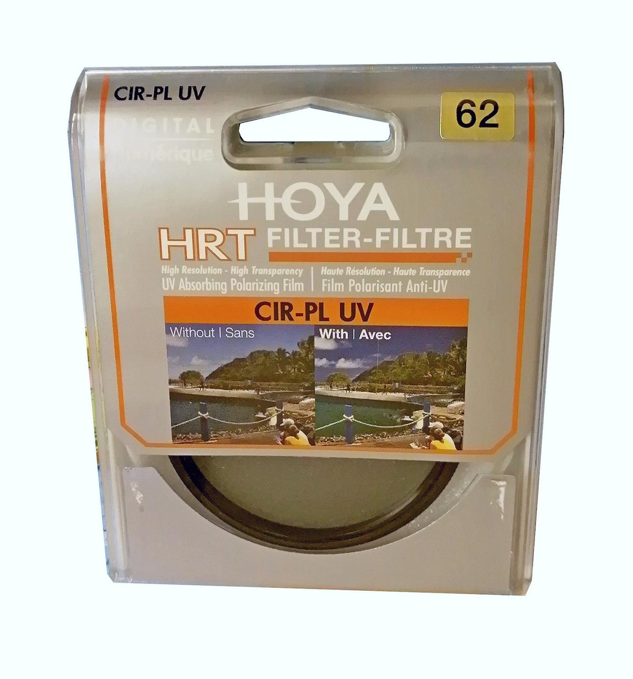 Светофильтр HOYA CIR-PL UV HRT 62мм