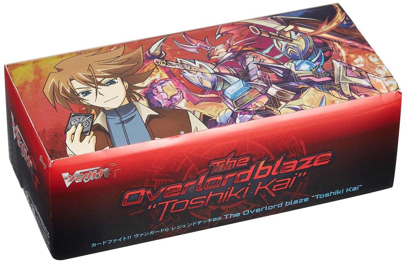 "Card Fight !! Vanguard G VG-G-LD02 Legend deck 2nd The Overlord blaze ""Toshiki Kai"" Japanese Ver."