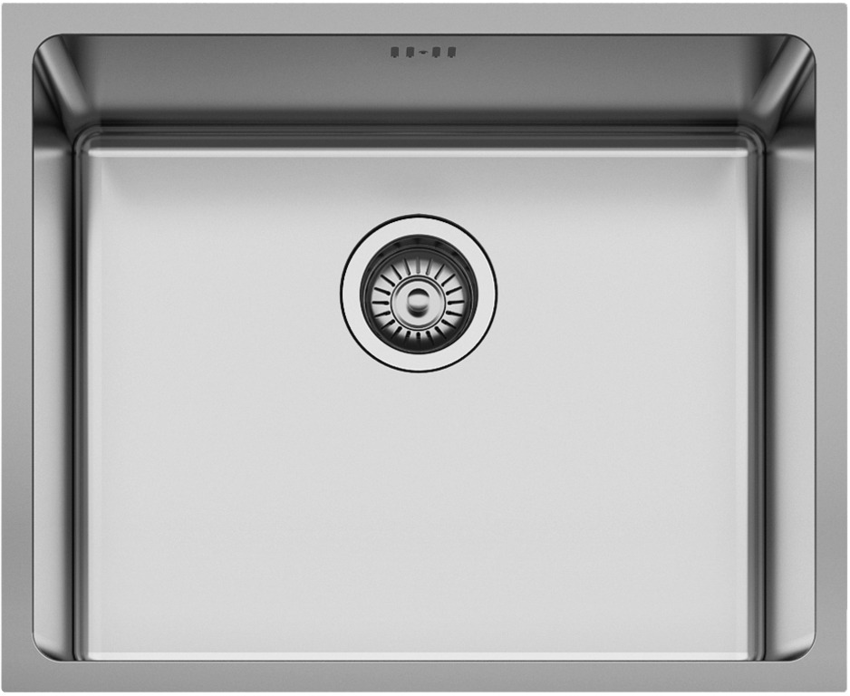 Мойка нержавеющая для кухни Seaman Eco Roma 540х440 мм SMR-5444A.A