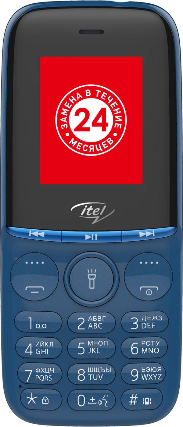 мобильный телефон itel it2320, синий