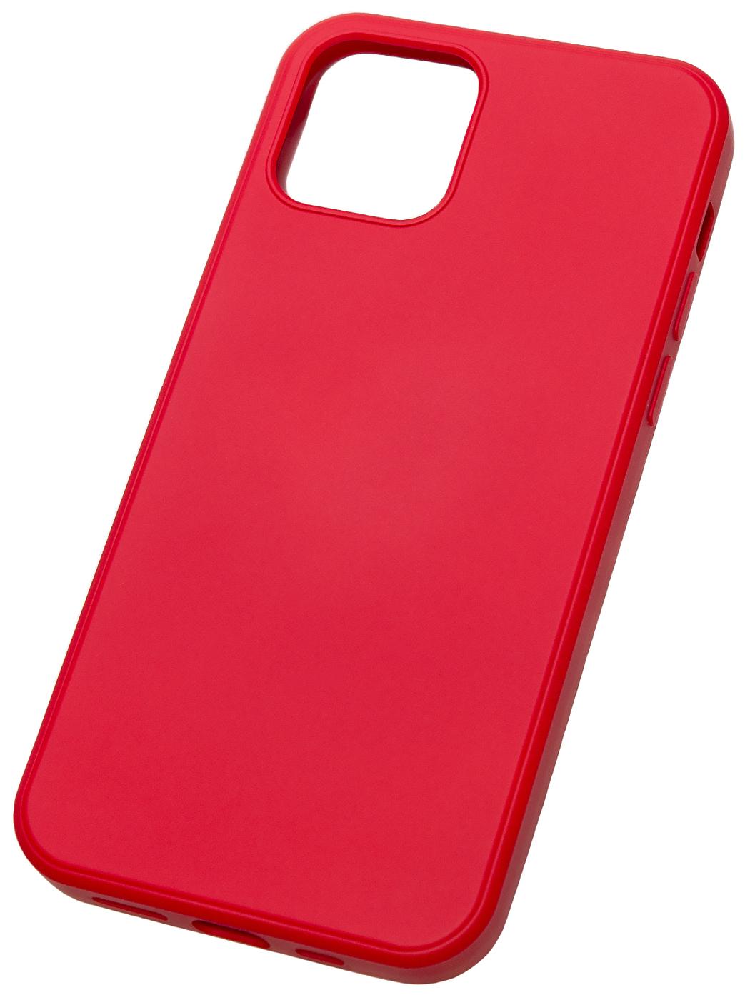 Чехол для Iphone 12 и Iphone 12 PRO/ Чехол для Айфон 12 и Айфон 12 Про, красный цвет.