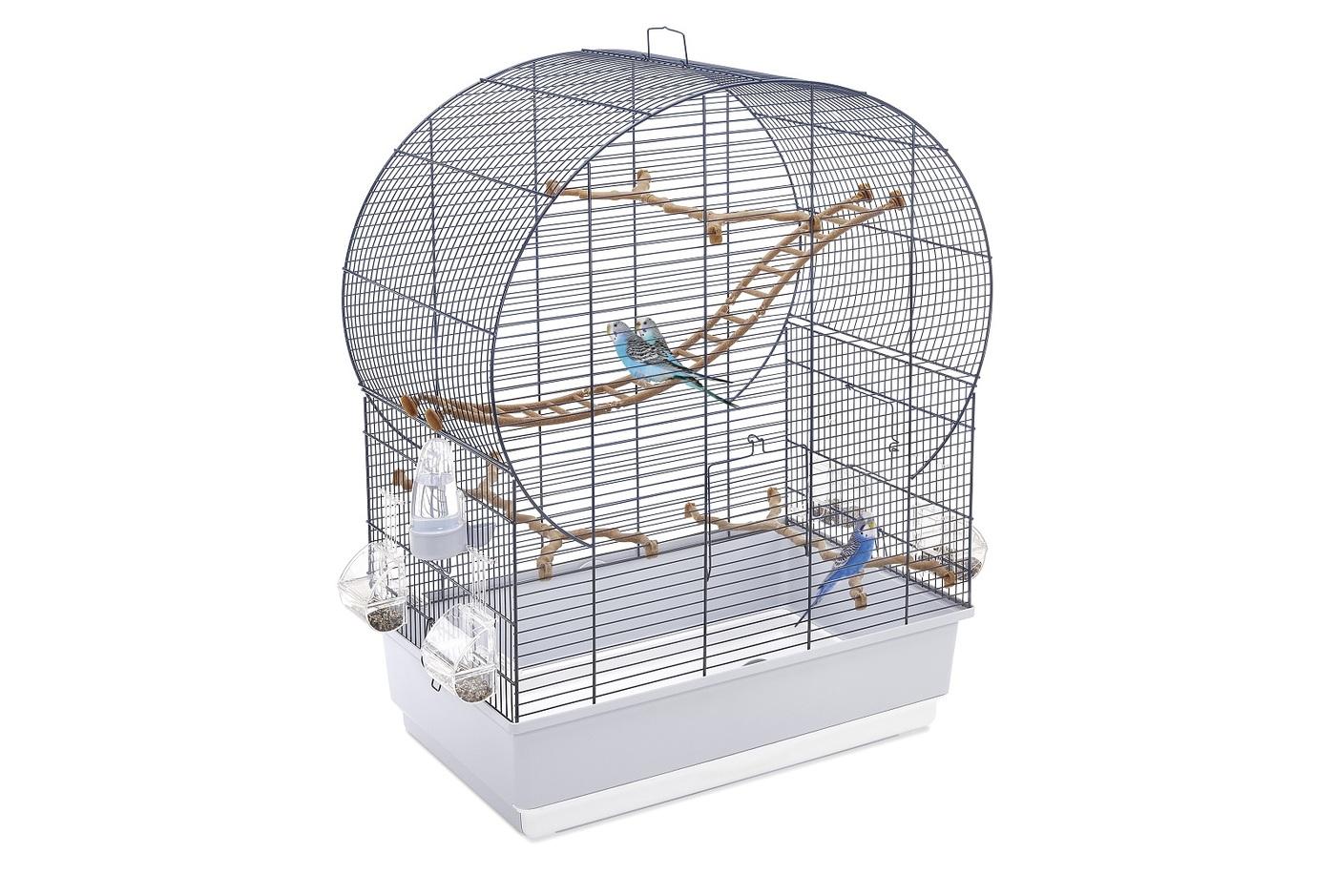 клетка imac andorra для птиц , морозный голубой, 61х38х76см