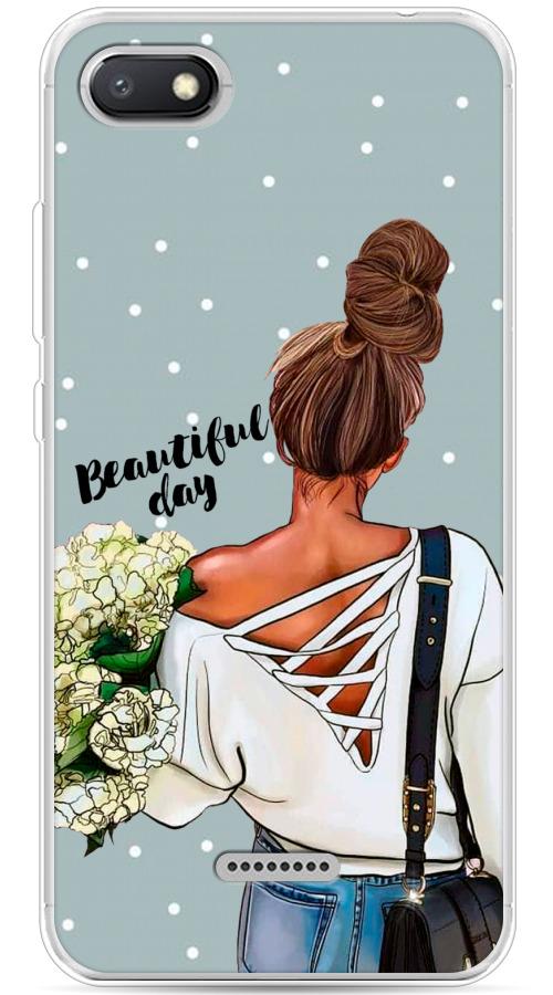 Силиконовый чехол Beautiful day на Xiaomi Redmi 6A / Сяоми Редми 6A