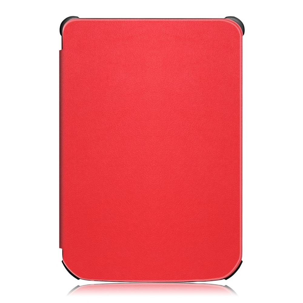 чехол-обложка для электронной книги pocketbook 616/627/632 цвет: красный