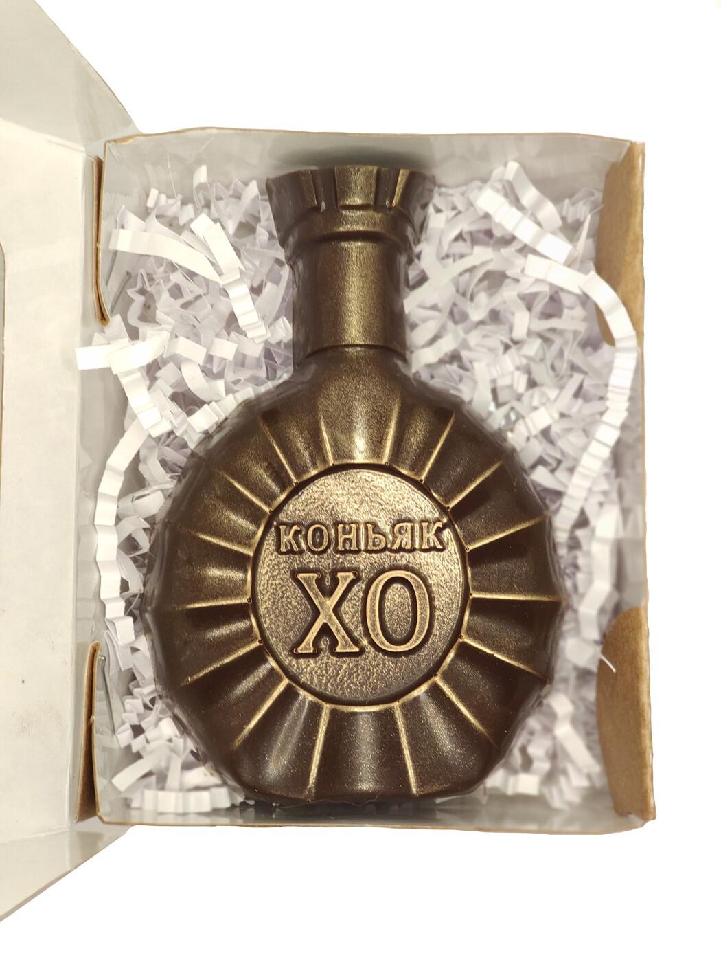 "Шоколад фигурный ""Бутылка Коньяк XO"" 40 гр."