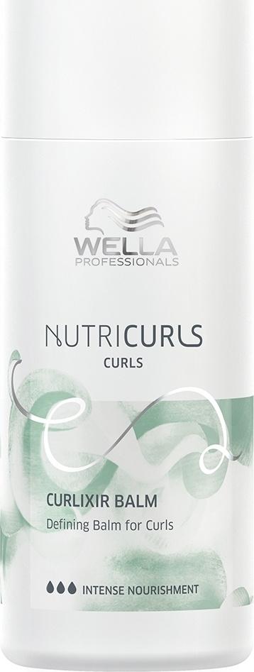 Wella Professionals Крем-бальзам для фиксации и создания упругих локонов Nutricurls Curlixir Balm Defining #1