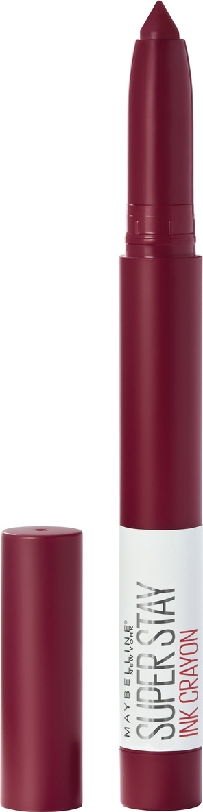"""Maybelline New York Помада-стик для губ """"Superstay Matte Ink Crayon"""", оттенок 55, Сделай это возможным #1"""