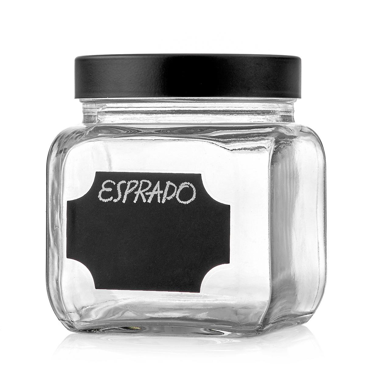 Банка для сыпучих продуктов Esprado, 700 мл, 1 шт #1