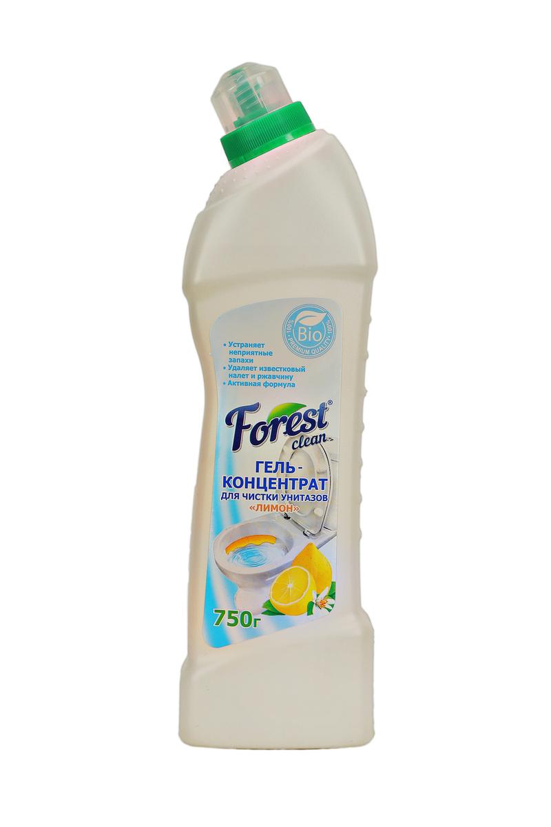 """Гель для чистки унитаза Forest clean """"Лимон"""", 750мл #1"""