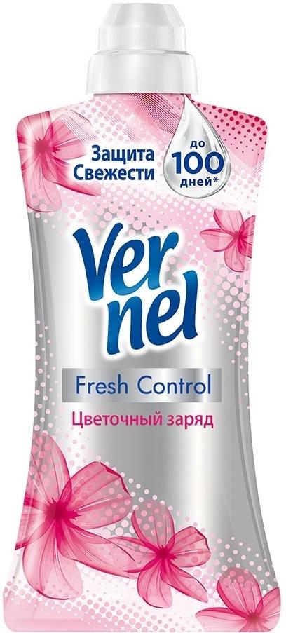 """Vernel Кондиционер-ополаскиватель для белья Fresh Control """"Цветочный заряд"""", концентрат 1,2 л  #1"""