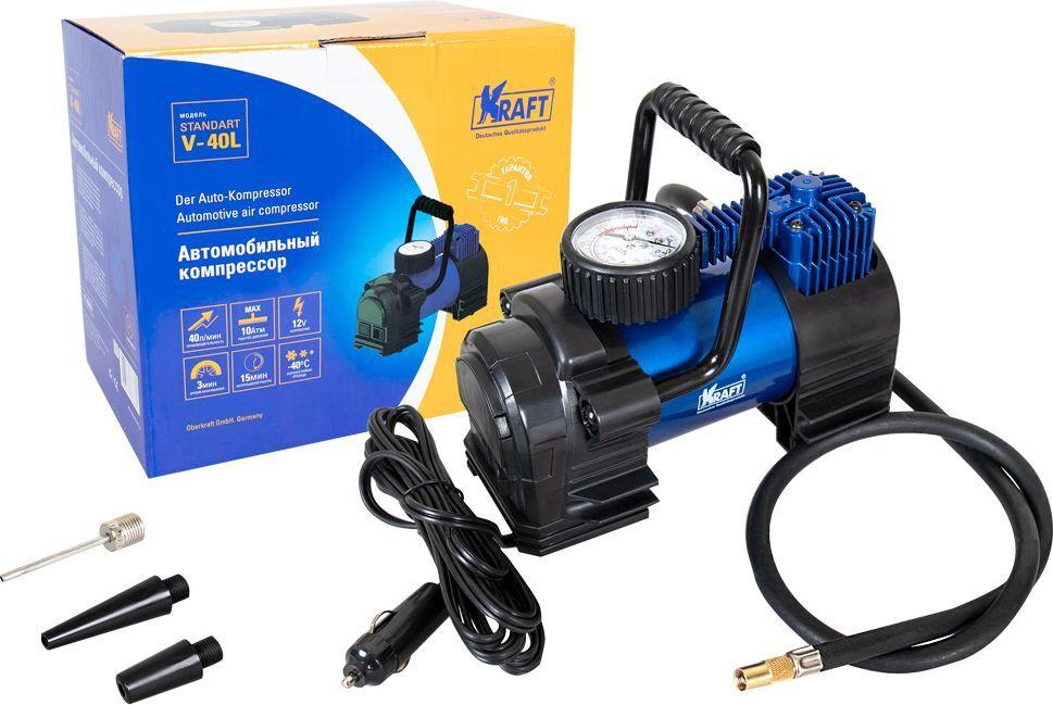 Автомобильный компрессор Kraft Standart V-40L #1
