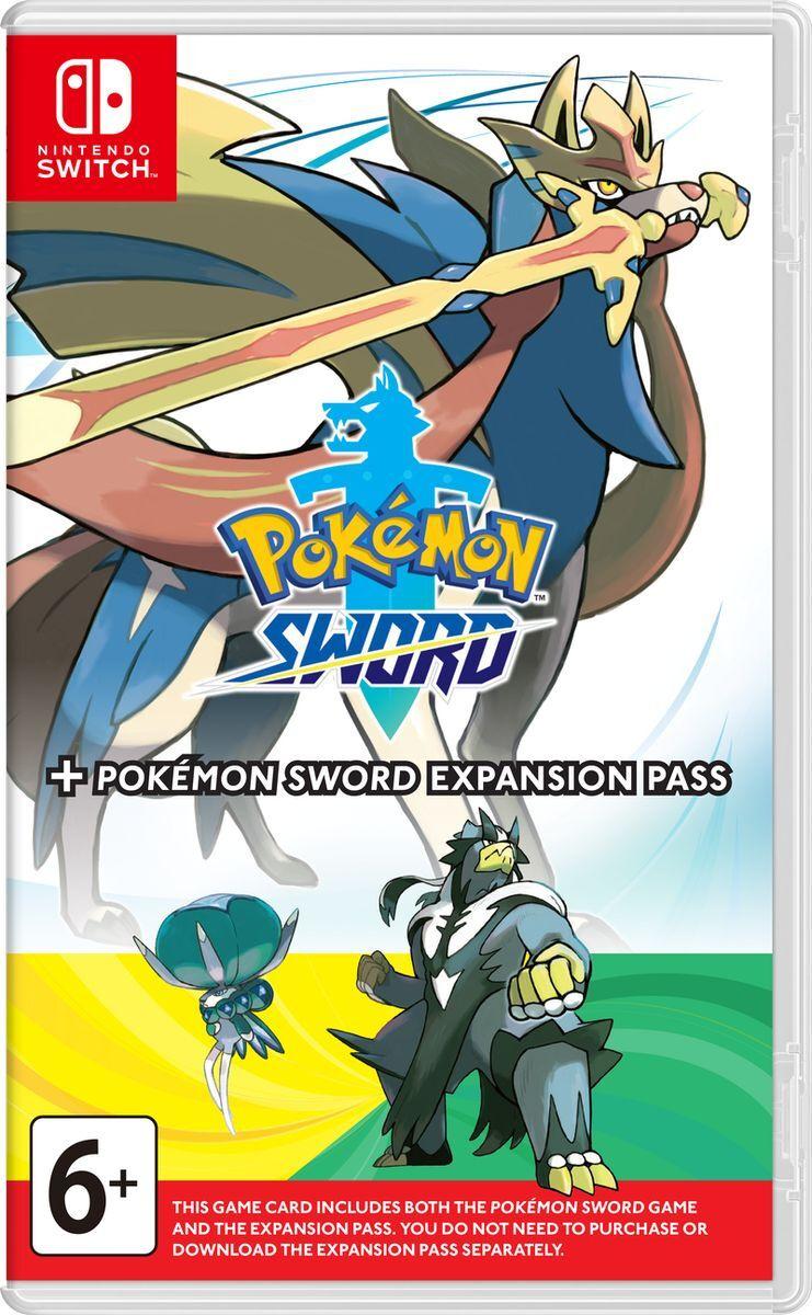 Игра Pokemon Sword + Expansion Pass (Nintendo Switch, Английская версия) #1