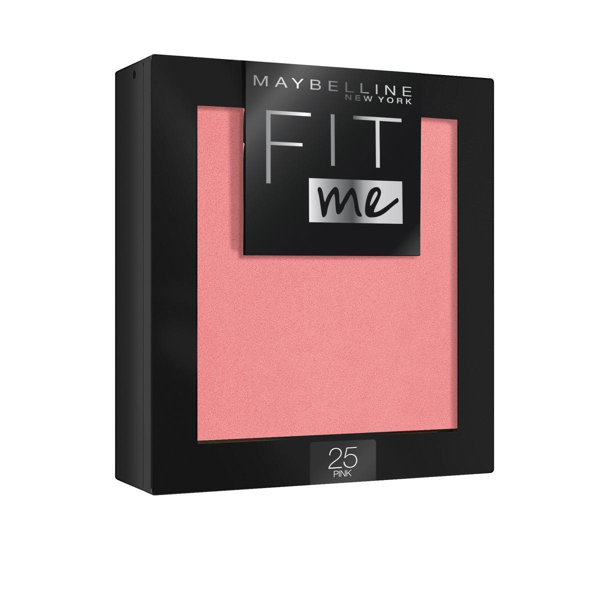 "Maybelline New York Румяна для лица ""Fit Me Blush"", оттенок 25, Розовый #1"